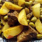 recette Tajine viande olive pdt