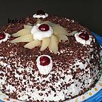 recette Gâteau chocolat et poires