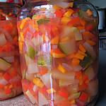 recette Légumes au vinaigre