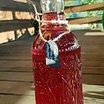 recette Alcool de framboises sauvages  ( recette très peu sucrée )