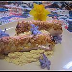 recette Courgettes au jambon de dinde gratinées.