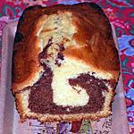 recette Gâteau marbré au chocolat