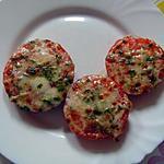 recette Tomate-mozzarella gratinées