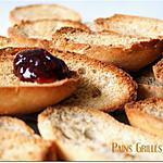 recette Pains Grillés Suédois