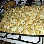 recette gratin riz quenelle de volaille