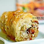 recette Baklava rolls aux amandes et miel du Maroc
