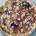 recette tarte au miel et amande éffilées