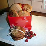 recette palets de dames au chocolat et fraises séchées