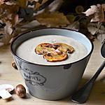 recette Velouté d'automne aux champignons
