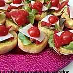 recette Petits toasts express