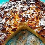 recette Cake tout pommes, miel au Ginseng et aux amandes .
