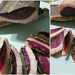 recette magrets de canard séchés maison sur salade d'endives au noix