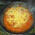 recette Spaghettis à la sicilienne