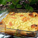 recette Ooo Clafoutis à la rhubarbe , cannelle et abricots sechés ooO
