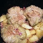 recette Choux farcis et ses petites pommes de terre