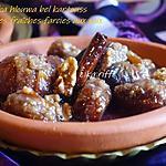 recette Marka hlouwa bel kartouss, figues fraîches farcies aux noix