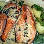 recette Darne de saumon à l oseille