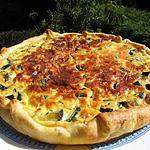 recette Tarte aux courgettes et parmigiano réggiano