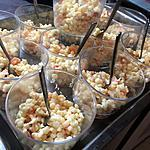 recette Salade de perles aux fruits de mer
