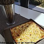 recette Tarte aux pommes à la crème d'amande