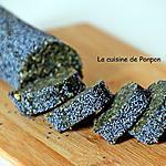 recette Tranche d'énergie noix de cajou, amande, orange confite, abricot sec, linette, spiruline et guarana blanc, vegan