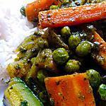 recette Tajine de légumes aux épices