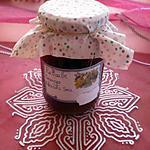 recette Confiture rhubarbe/oranges/abricots secs