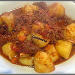 recette Pommes de terre à la bolognaise.