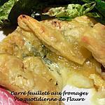 recette Carré chaud aux fromages