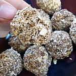 recette Boules d'énergie (dattes, avoine)
