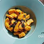 recette Gnocchis de courge maison au beurre de sauge