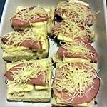 recette Tartine raclette / bacon
