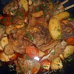 recette Sauté d agneau aux panais