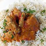 recette poulet thai au curry rouge