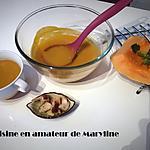 recette Soupe de potiron carottes
