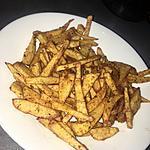 recette Frites épicées