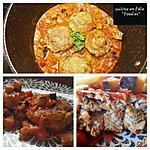 recette Boulettes de sardines à la sicilienne sauce aubergine câpres et anchois