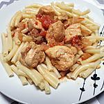 recette Poulet au massala