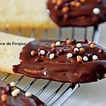 recette Langue de chat garnie de chocolat