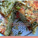 recette Gâteau de riz aux légumes