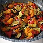 recette Poêlée de légumes potiron