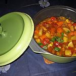 recette Cocotte de légumes façon tajine