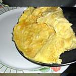 recette Omelette roulée