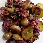 recette pomme de terre sauté au corned beef