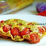 recette Clafoutis aux tomates cerises de l'académie du goût