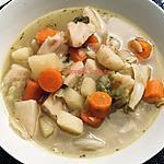 recette Soupe de légumes aux saucisses de Montbéliard