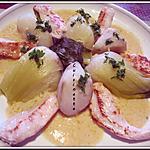 recette Topinambour,Pak choi,aux lamelles de poulet.