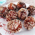 recette Gateau zinzi (boules de sésame croquantes)