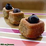 recette Bouchées apéritives au pesto & aux olives noires
