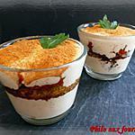 recette Tiramisu aux tomates confites